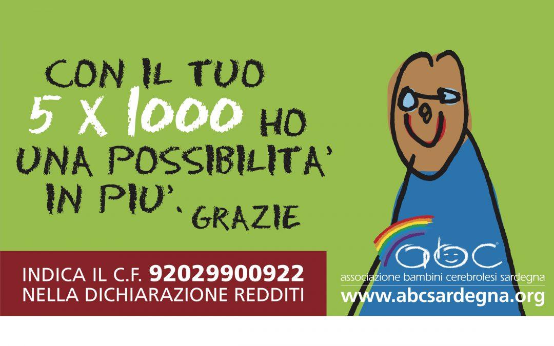 Il 5×1000 per ABC Sardegna
